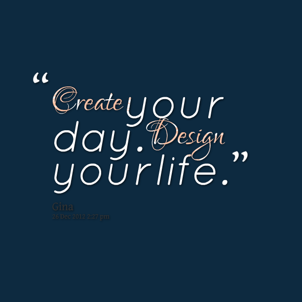 picture regarding Design Your Day named Layout your daily life. - 30 Moment Head